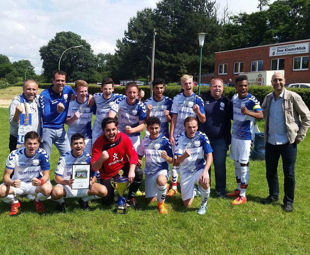 Das JSR Team des Kreises Duisburg/Mühlheim/Dinslaken