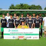 Das Jung-Schiedsrichter-Team aus dem Kreis 4 Mönchengladbach-Viersen