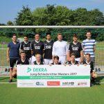 Das Jung-Schiedsrichter-Team aus dem Kreis Essen
